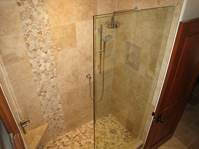 Natural Quartzite Waterfall Shower